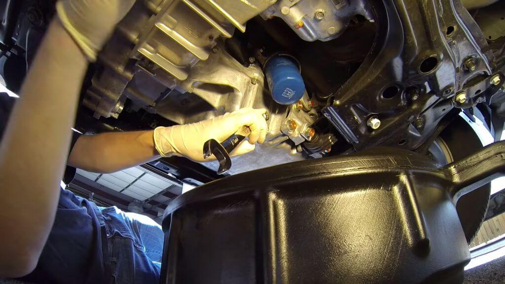 замена масла в ДВС хонда срв спб