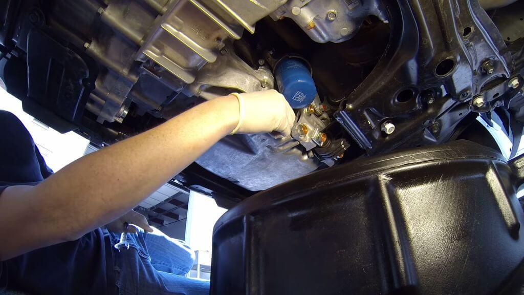 замена масла в коробке передач хонда срв спб