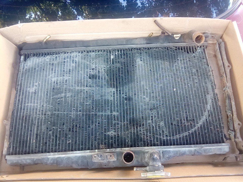 чистка радиатора кондиционера хонда легенд спб